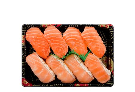Salmon Duo Bento